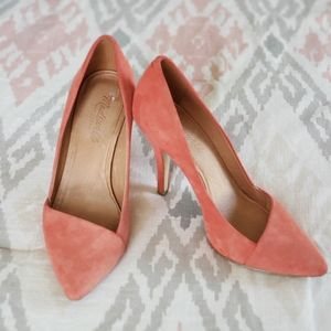 Madewell Leather Heels Sz. 7.5